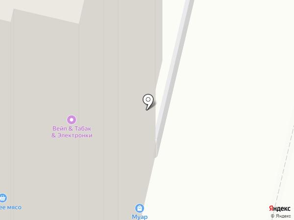 Муар на карте Бутово