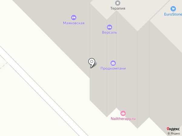 Салон-Сервис на карте Москвы