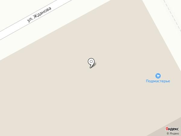 Подмастерье на карте Тулы