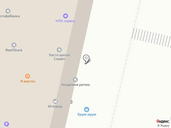 Бонифаций на карте Москвы