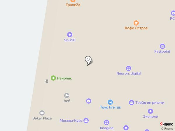 Rocket rent на карте Москвы