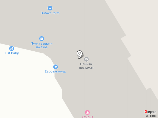 Тибигун.ру на карте Бутово