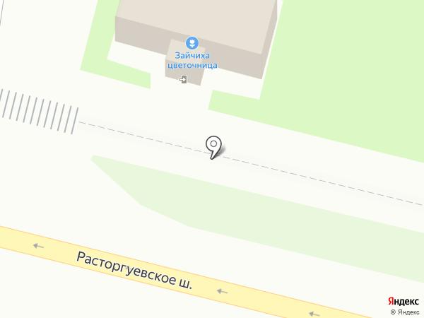 Магазин цветов на карте Бутово