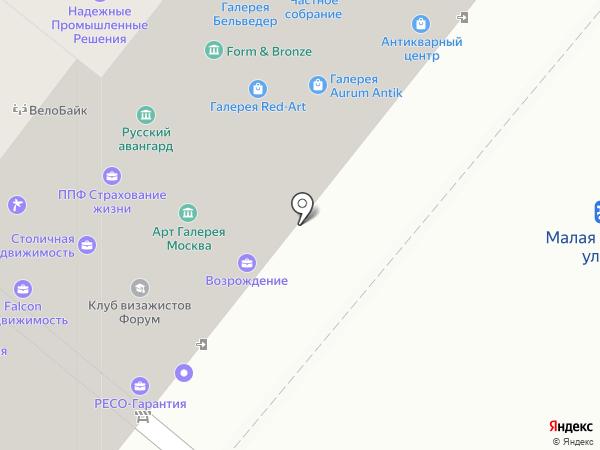 Riabinnikov Peller на карте Москвы