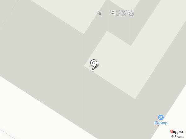 Кафе 88 на карте Тулы