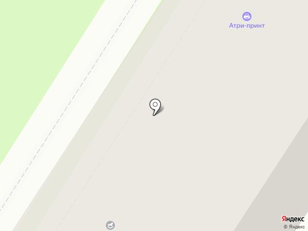 МП-Тур на карте Тулы