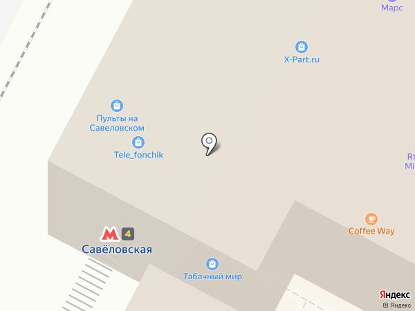 Moba на карте Москвы
