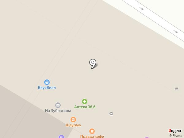 Линзомат на карте Москвы