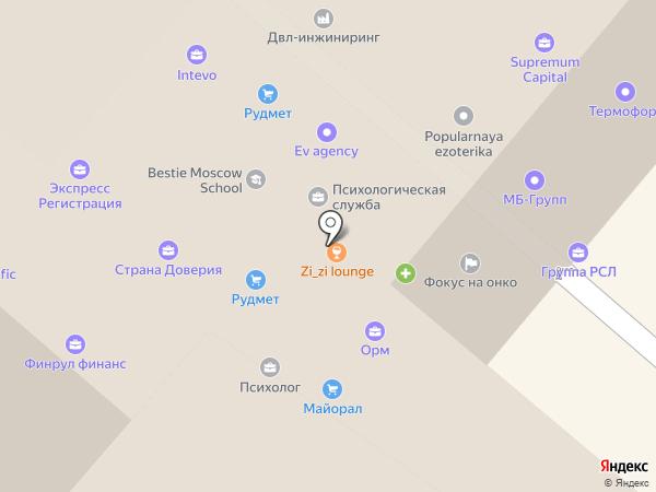 Студия Современной Стоматологии на карте Москвы
