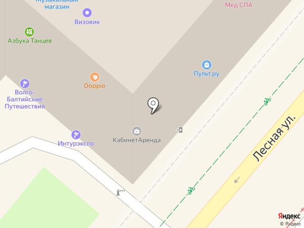 Аргумент на карте Москвы