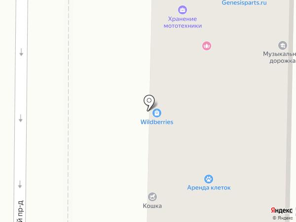 Лебедь на карте Москвы