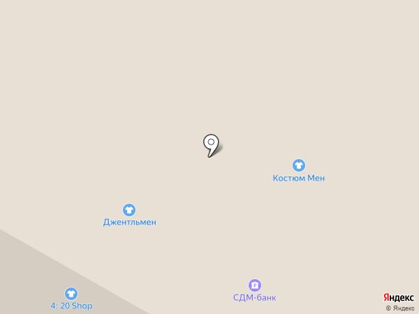 Griff на карте Москвы