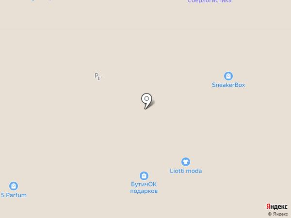 Визор на карте Москвы