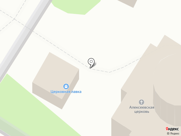 Храм в честь святителя Алексия, митрополита Московского и всея Руси на карте Тулы