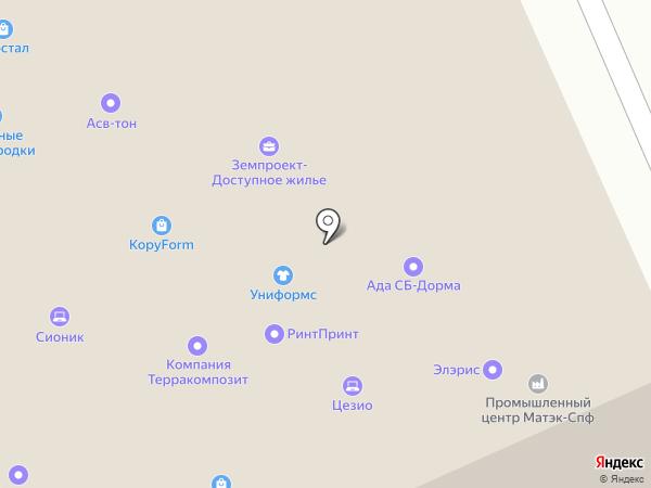 Бикма.Ру на карте Москвы