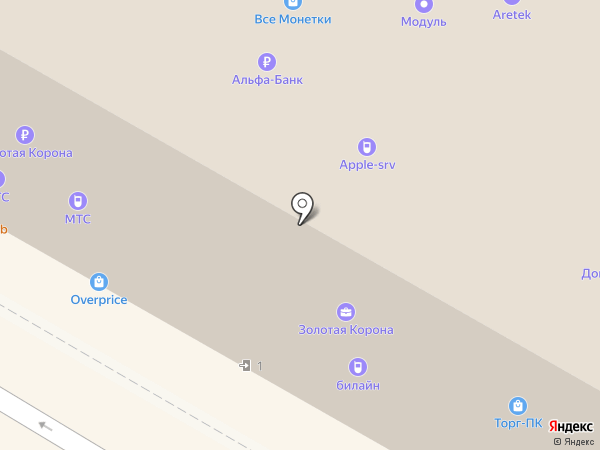 CoolerLand на карте Москвы