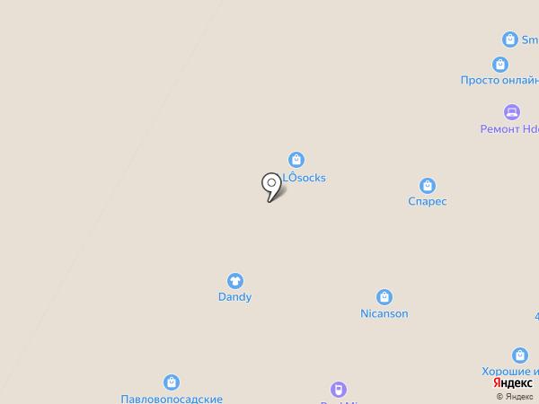 Стиль на карте Москвы