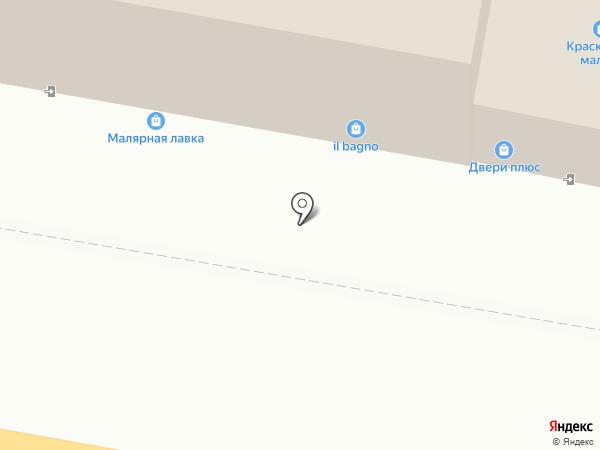 Магазин линолеума на карте Тулы