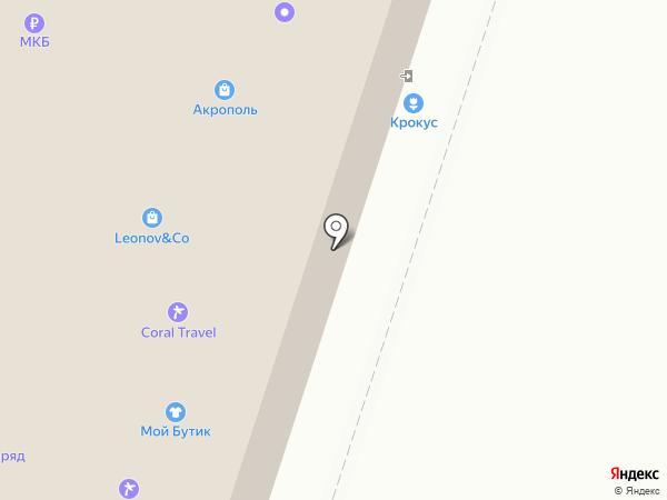 ImStyle на карте Москвы