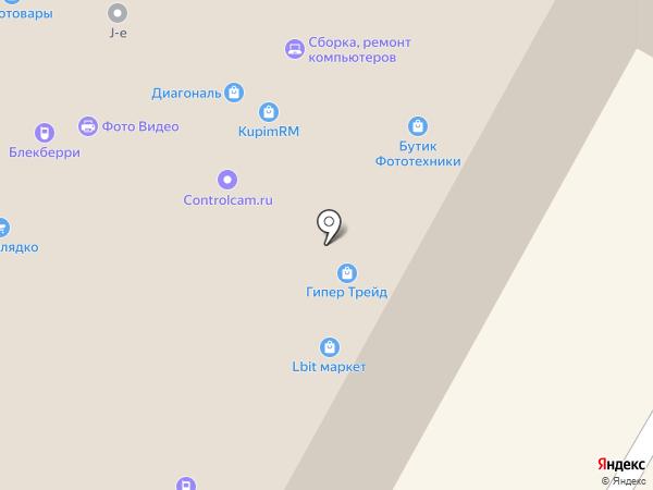 Lbit на карте Москвы