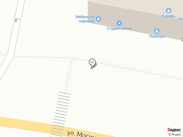 Палитра на карте Тулы