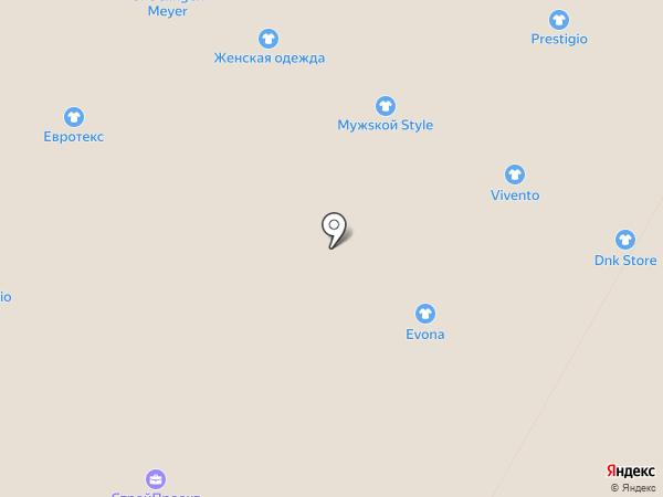 Evona на карте Москвы
