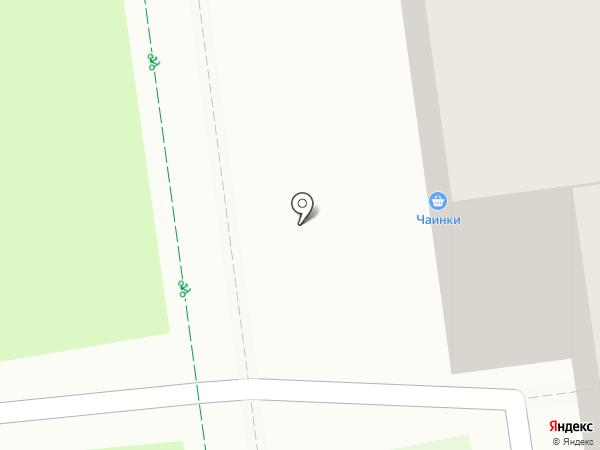 Чаинки на карте Тулы