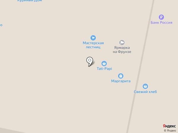 Швейный на карте Тулы