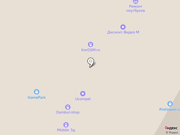 uСompel на карте Москвы