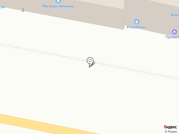 Сеть магазинов лепнины на карте Тулы