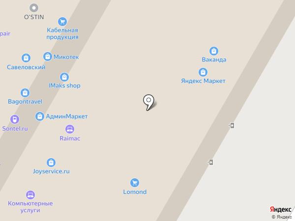 Profilabs на карте Москвы