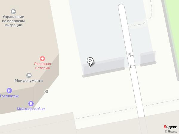 Мосэнергосбыт на карте Москвы