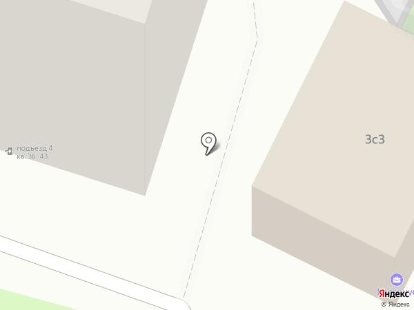Дельта Икс на карте Москвы