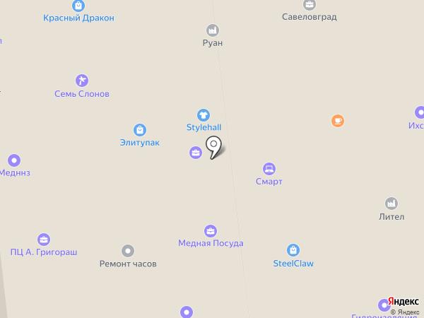 Neo-сервис на карте Москвы