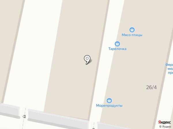 Магазин колбасных изделий и сыров на карте Тулы