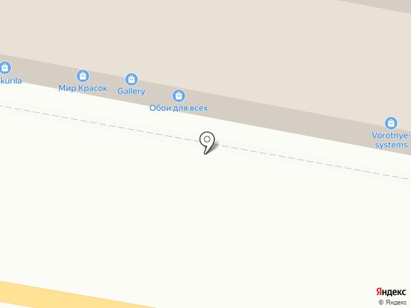 Магазин обоев на карте Тулы