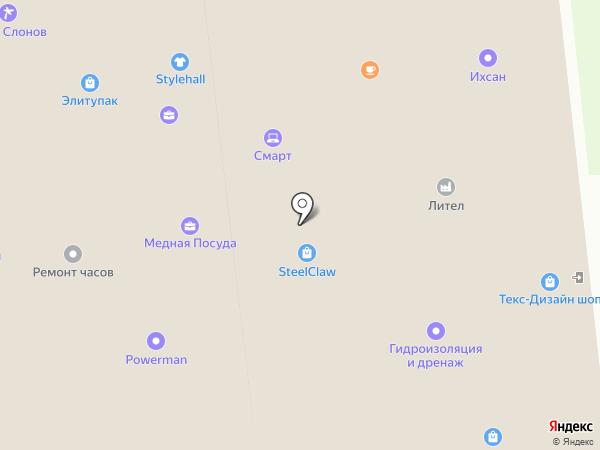 Лилак на карте Москвы