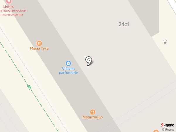 Maritozzo на карте Москвы