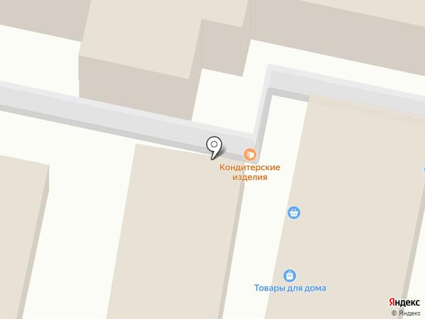 Магазин молочных продуктов на карте Тулы