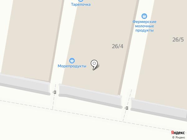 Продовольсвтенный магазин на карте Тулы