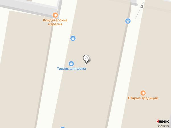 Магазин носков и шапок на карте Тулы