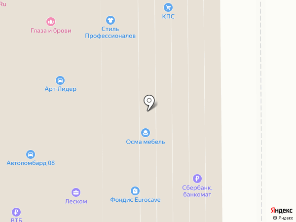 LIMO-CAb23 на карте Москвы