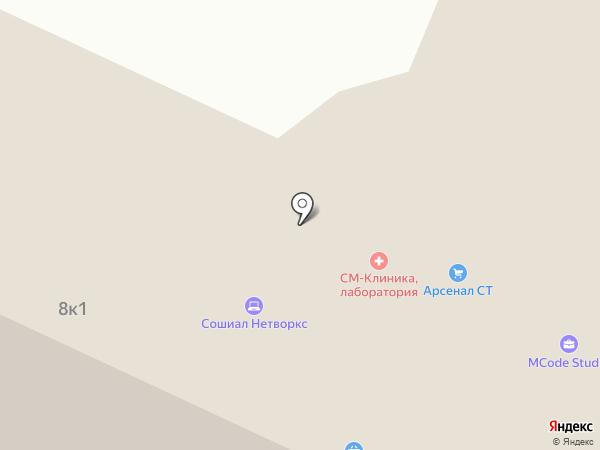 Адвокат Сухарев Э.О. на карте Москвы