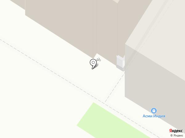 Пизаста на карте Тулы