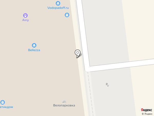 Инженер на карте Москвы