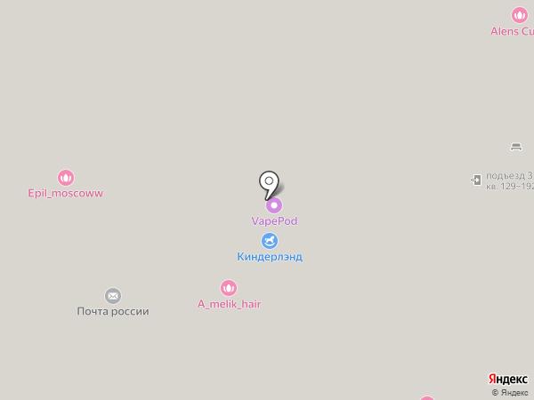Магазин трикотажа на карте Москвы