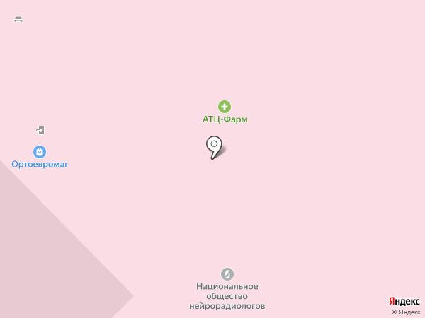 Грин Фарма на карте Москвы