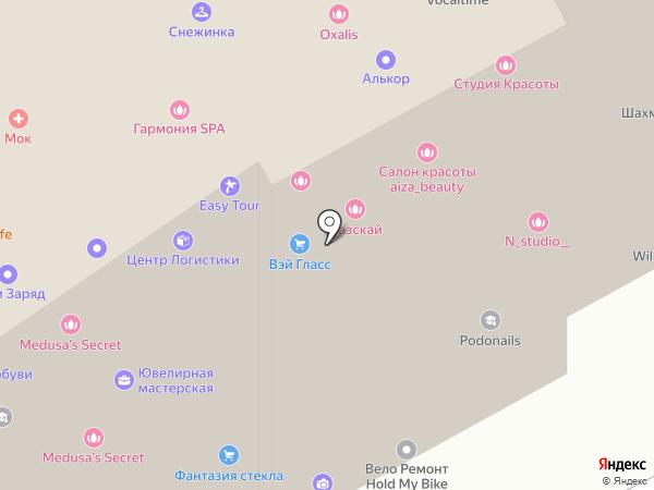 Компхелпер на карте Москвы