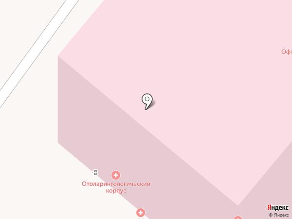 Городская клиническая больница №1 им. Н.И. Пирогова на карте Москвы