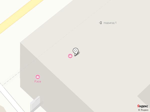 Универсал на карте Москвы